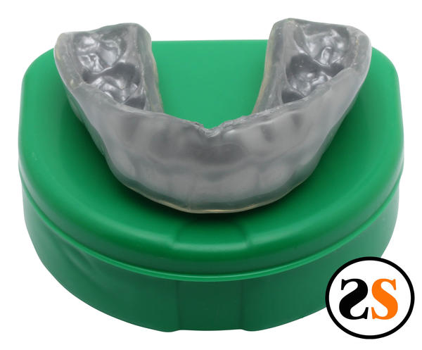 I wear a mouth guard for grinding so my teeth don't get much air at night. Could that be why they feel so dull?