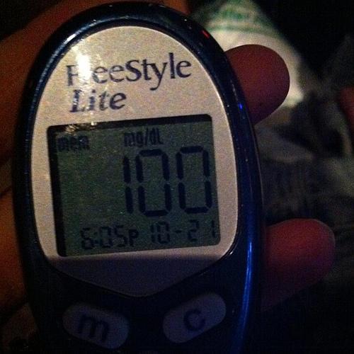 Why might I need a glycosylated hemoglobin test?