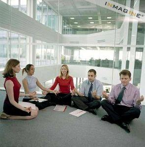 What's the best way to approach organizations to offer relaxation & stress management training?