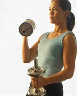 I need a good womens weight training routine for home. Could you give me some information about it?