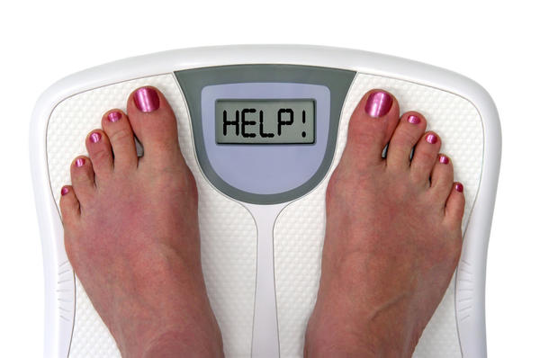 What is the physical cause of weight gain when using anti depressants?