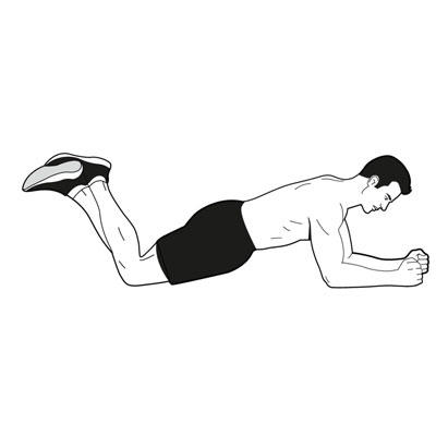 How can I strenghten the abs without straining the spine?
