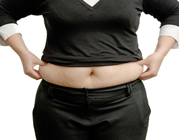 Why do girls getting fat at the hips first before the belly?