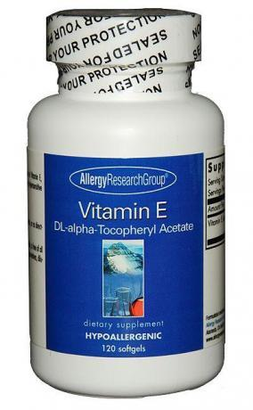 How to tell if I am allergic to vitamin E oil?