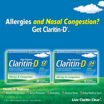How long does it take for claritin-d to work.