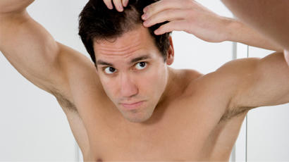 I am losing my hairs but I am still 18 years. I want some solution?