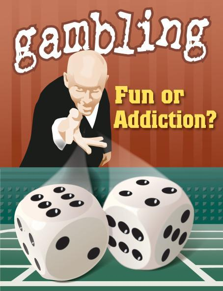 Is it the challenge or risk that is addictive in gambling?