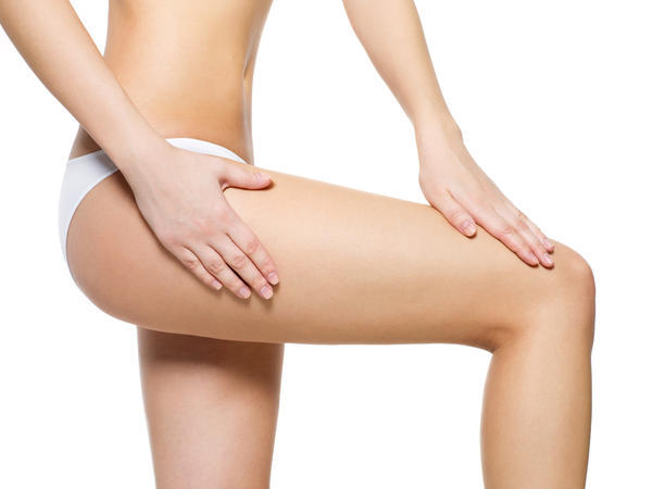 Why does it pain on the thighs following climax in lady & what can be done to prevent it.