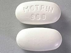 What does 800 motrin look like?