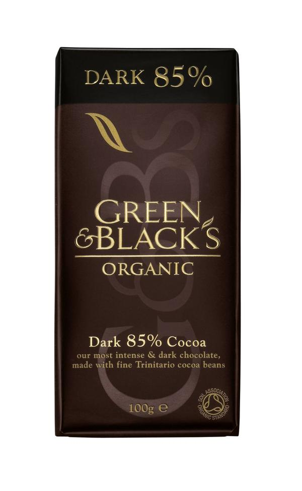 I need something sweet in work. Is it better to eat dark or brown chocolate?
