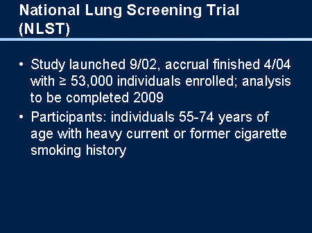 Im terrified of lung cancer because i smoked 17 years. How can I check?
