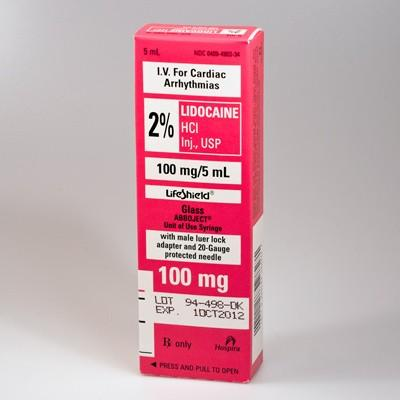 How long will last a shot of lidocaine 1% in your body?