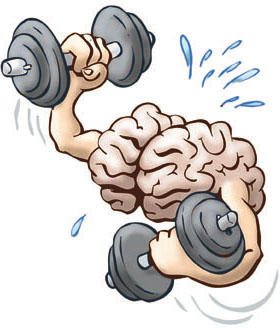 How long does it take for a person's brain to stop being hyped up after physical exercise?