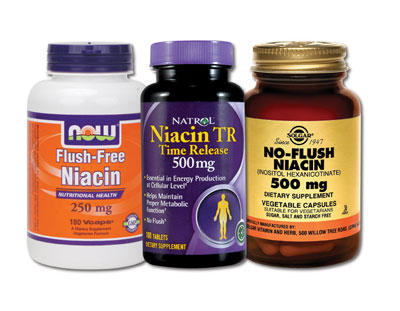 What does flush free niacin mean