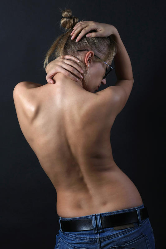 What is the relation between hemihypertrophy and scoliosis?