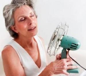 What can I do to deal with hot flashes? Are there any tricks to dealing with hot flashes? Things i can eat or drink to make them less frequent or more tolerable? Once I have then are there any ways to make them stop or get rid of them? Tricks to cooling d