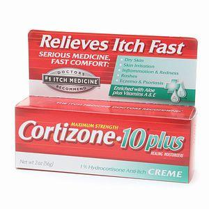 How long does it take for cortizone (hydrocortisone) cream take to relieve itch?