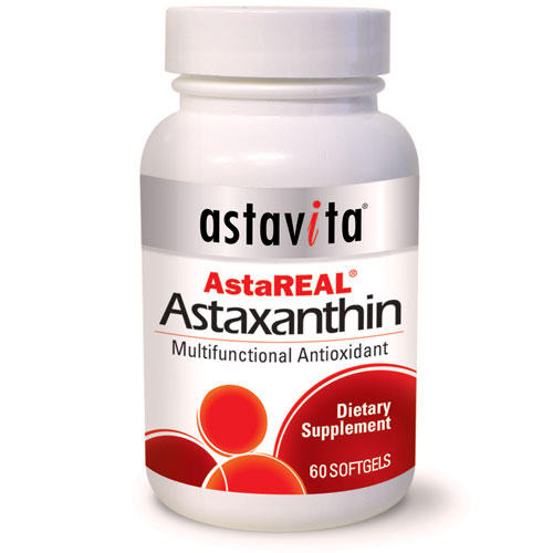 What are the health benefits to the supplement astaxanthin?