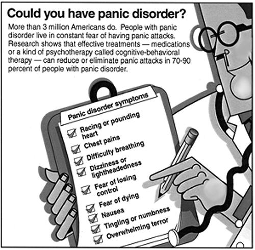 What is panic disorder with agoraphobia?