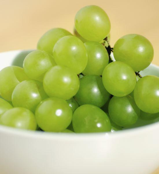 Is it bad to eat lots of green seedless grapes at night?