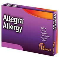 Are there people who should not take allegra (fexofenadine)?