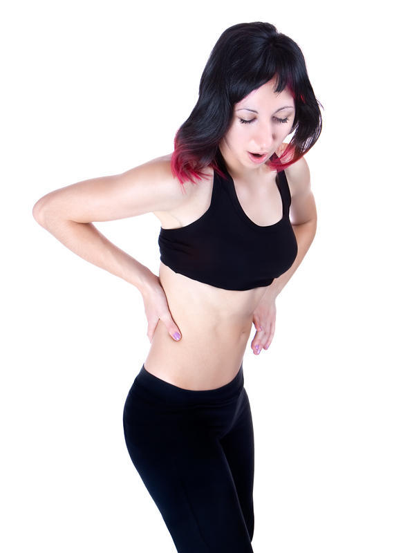 Symptoms: lower back is hurting stomach is cramping  nasiated and dizzy what is wrong with me?