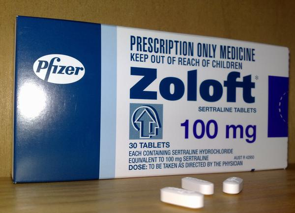 Can you take Zoloft (sertraline) and loratab?