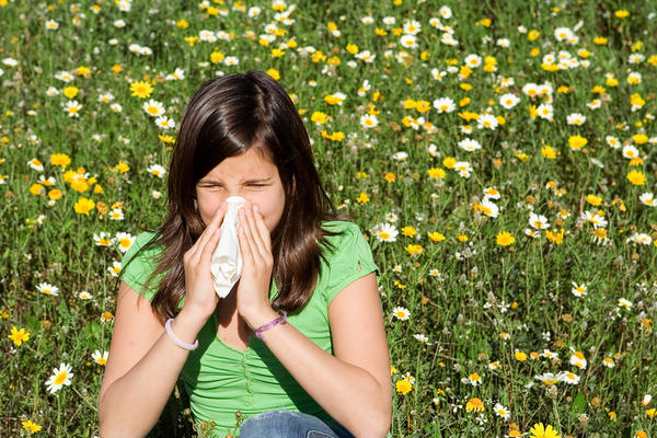 I have a problem of pollen allergy which causes watering eyes and nose, sneezing and breathing problem. How can it be cured or any precautions?