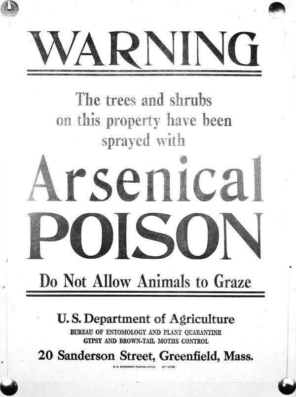 What would happen if you got arsenic?