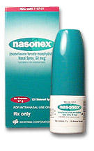 What does nasonex (mometasone) do to you when you get checked out by the doctor?