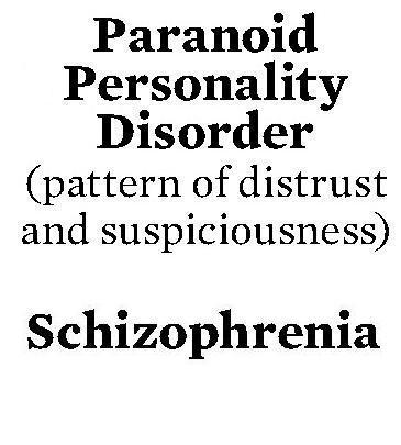 Are asperger's and paranoia related?