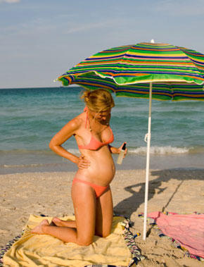 Are self tanners safe to use when pregnant?