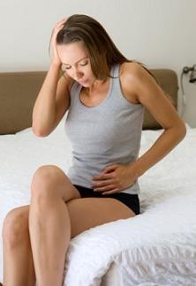 When you first get pregnant, does your pubis symphysis region poof out right away? Or does it take a few months?