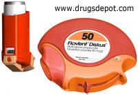 What is the difference between flovent hfa and flovent diskus?
