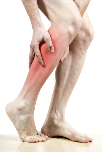 What may be causing a shocking pain that lasts 2-3 seconds on the left side of my left leg. Happens in the same exact spot several times?