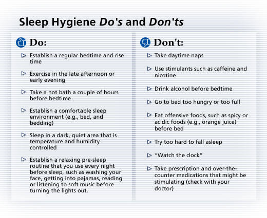 How to stop sleeping at work