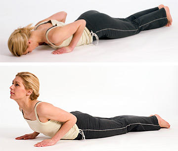 How to prevent upper back pain when exercising?