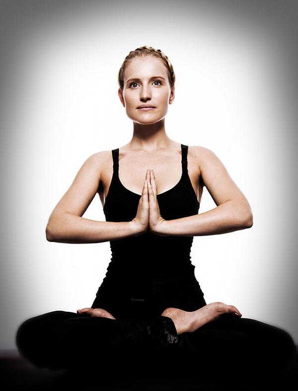 Can a person suffering from typhoid or has widal test positive still do yoga?