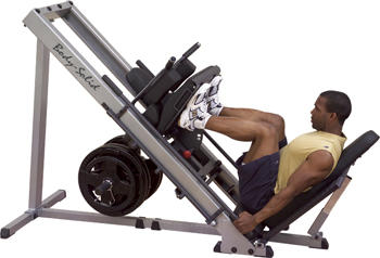 What are the benefits of using a leg press?