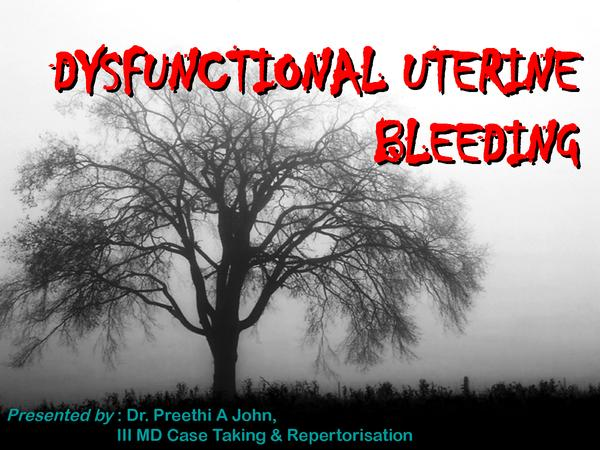 What can I do about pain with dysfunctional uterine bleeding?
