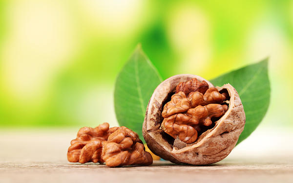 Walnut allergy reaction is typically what kind of symptom?