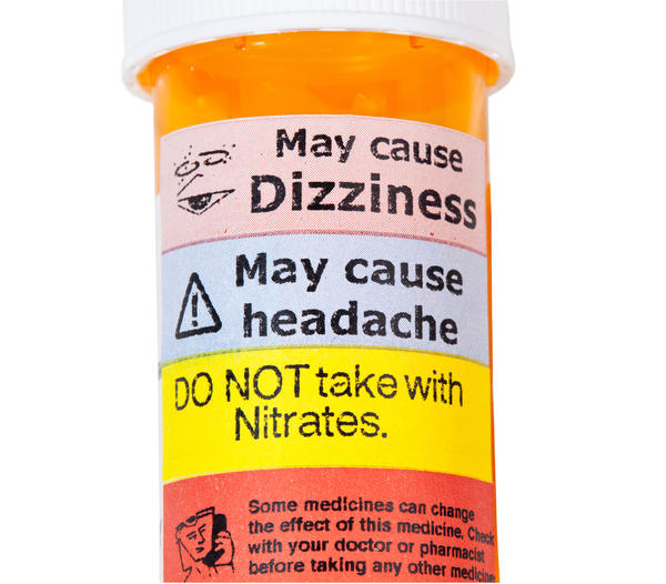 Can blood pressure medications cause dizziness ?