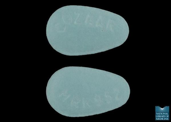 What is Cozaar (losartan) used for?