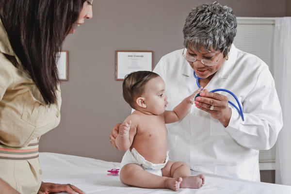 What are the common causes of a stroke in infants?