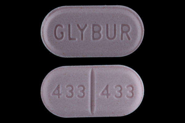 How long does it take for glyburide to become effective?