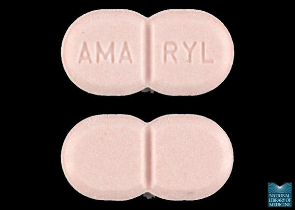 Can you take actos (pioglitazone) and amaryl together?