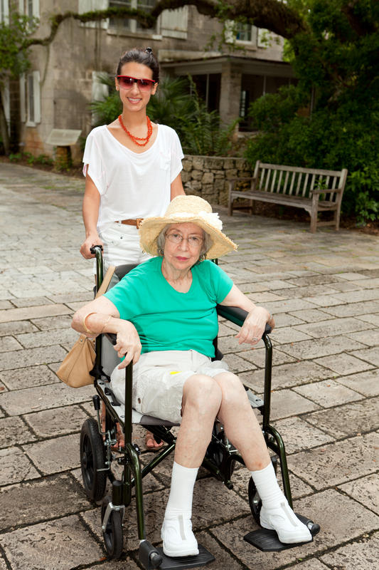 How do I get over my fear of being in a wheelchair at 80?