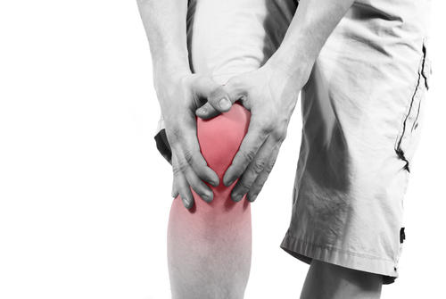 What is a treatment for knee ligament broken?