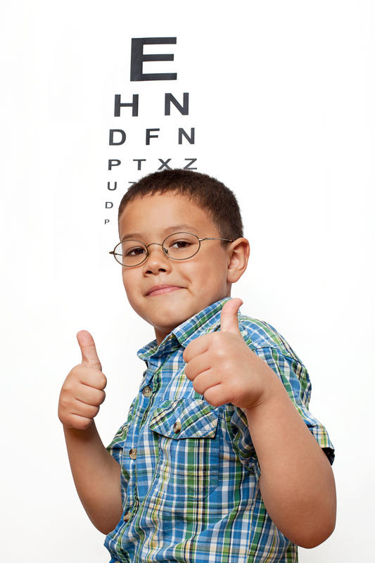 How can an optometrist know if I need glasses or not?