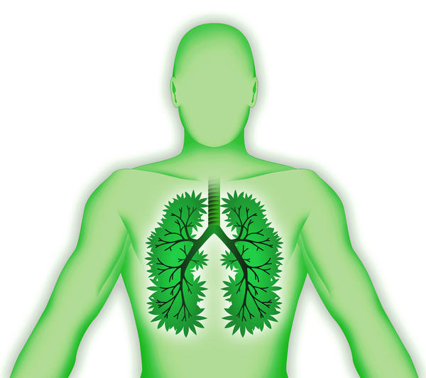 What causes fluid in the lung?